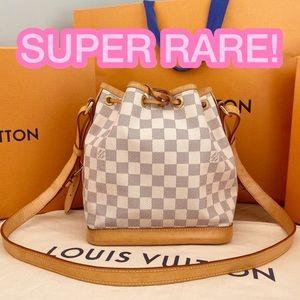 💎✨NOÉ BB✨💎 Auth Louis Vuitton Damier Azur Bag!